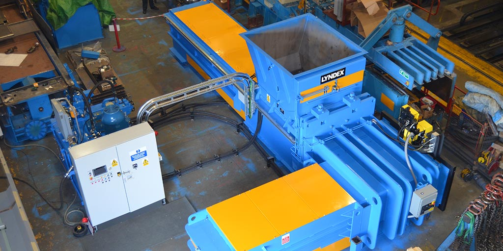 Large LT Ram II | Lyndex Recycling Systems Limited
