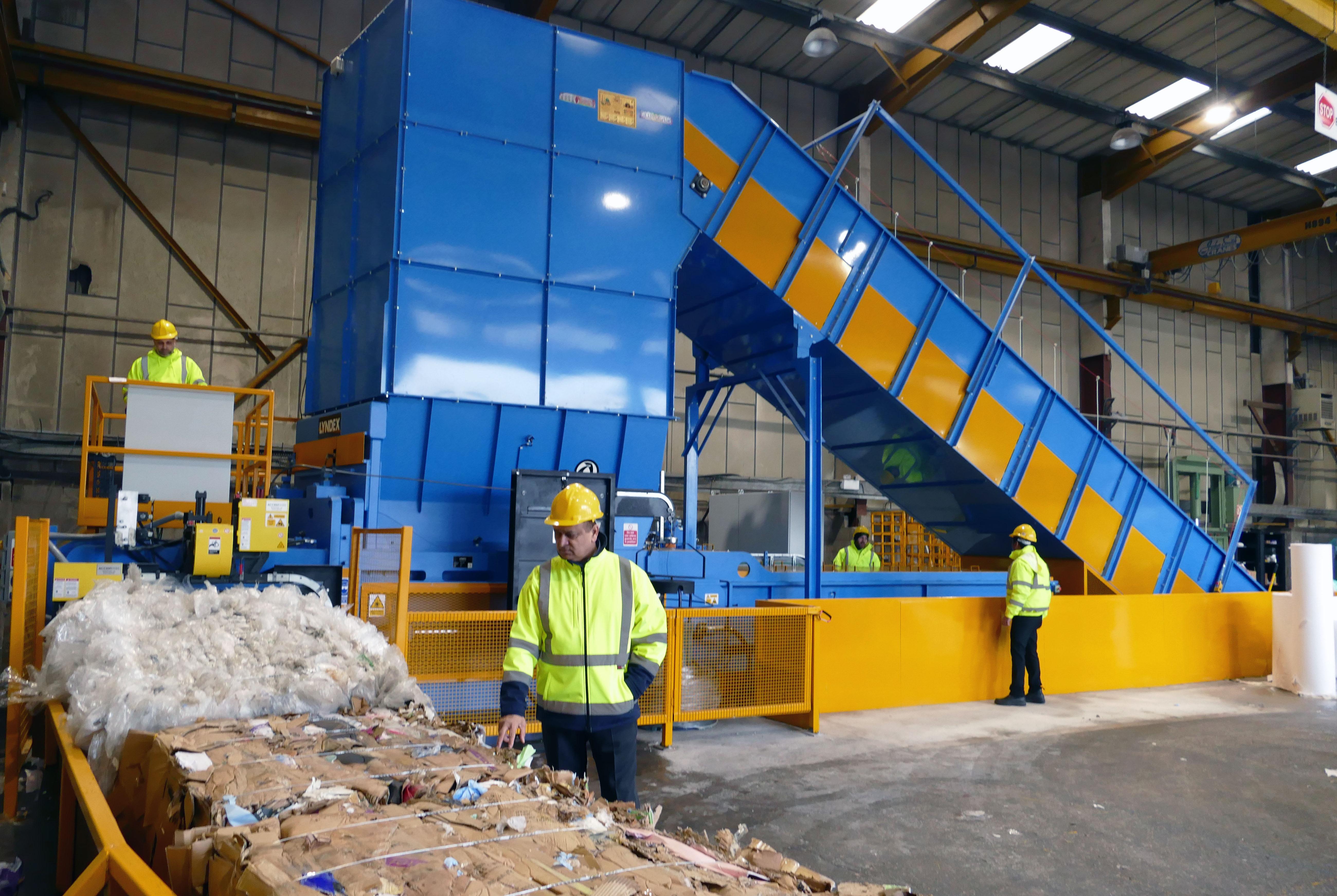 Manchester Paper Plastic Ltd chooses Lyndex RAM II Baler for